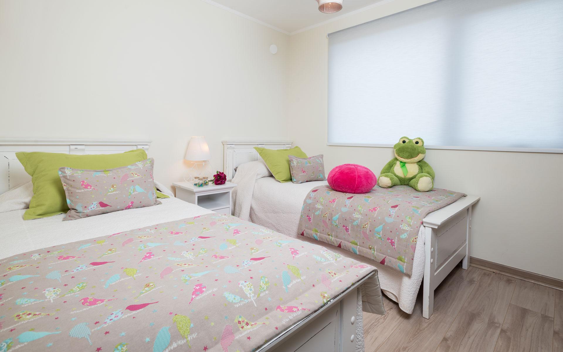 dormitorio doble condominio versalles
