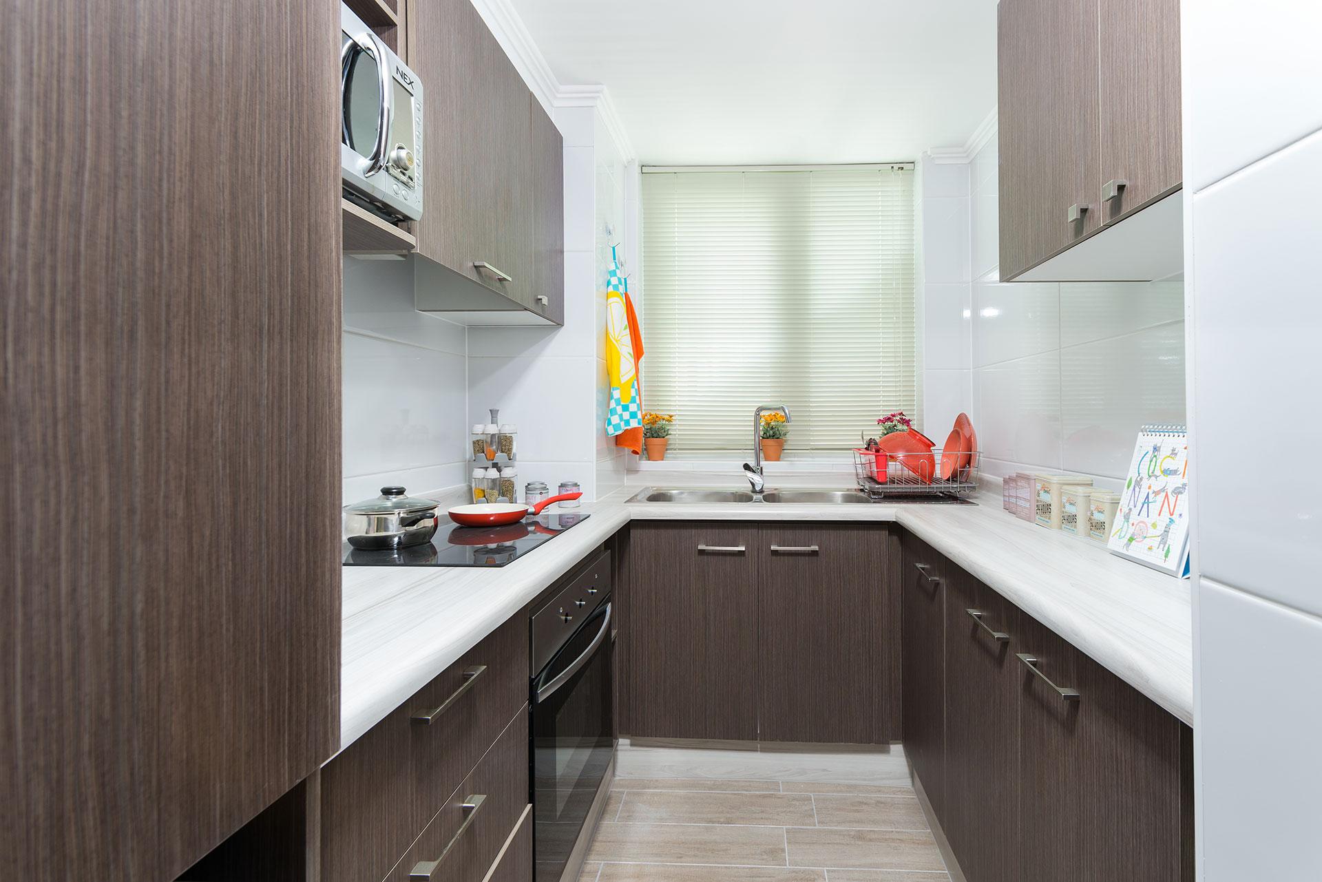 Vista cocina Condominio Versalles