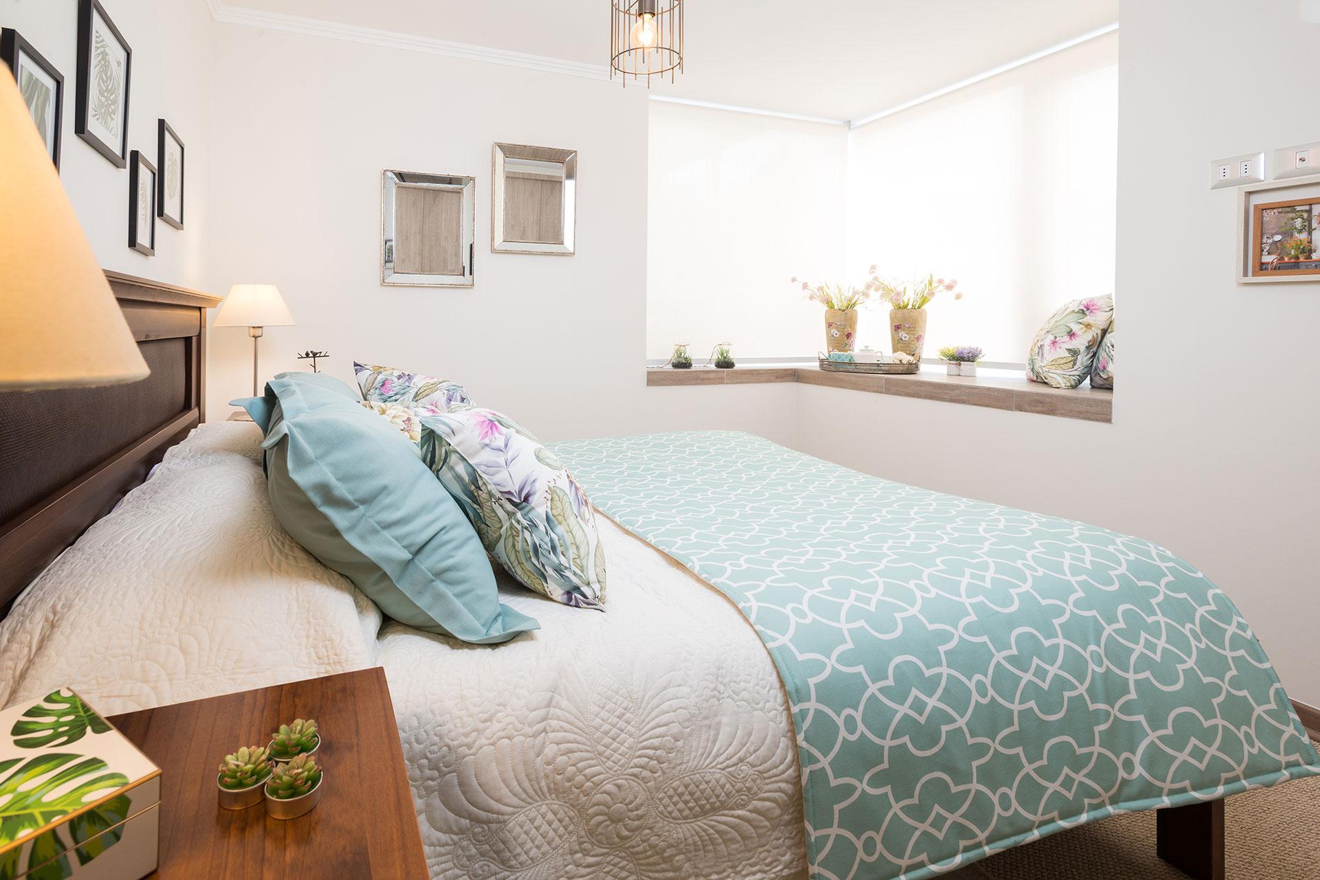 Vista dormitorio principal Condominio Versalles
