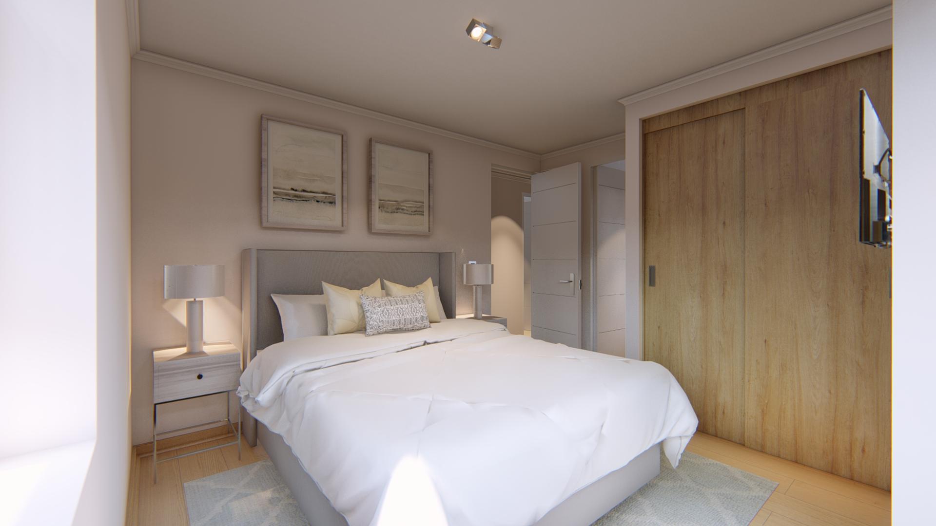 Vista dormitorio principal
