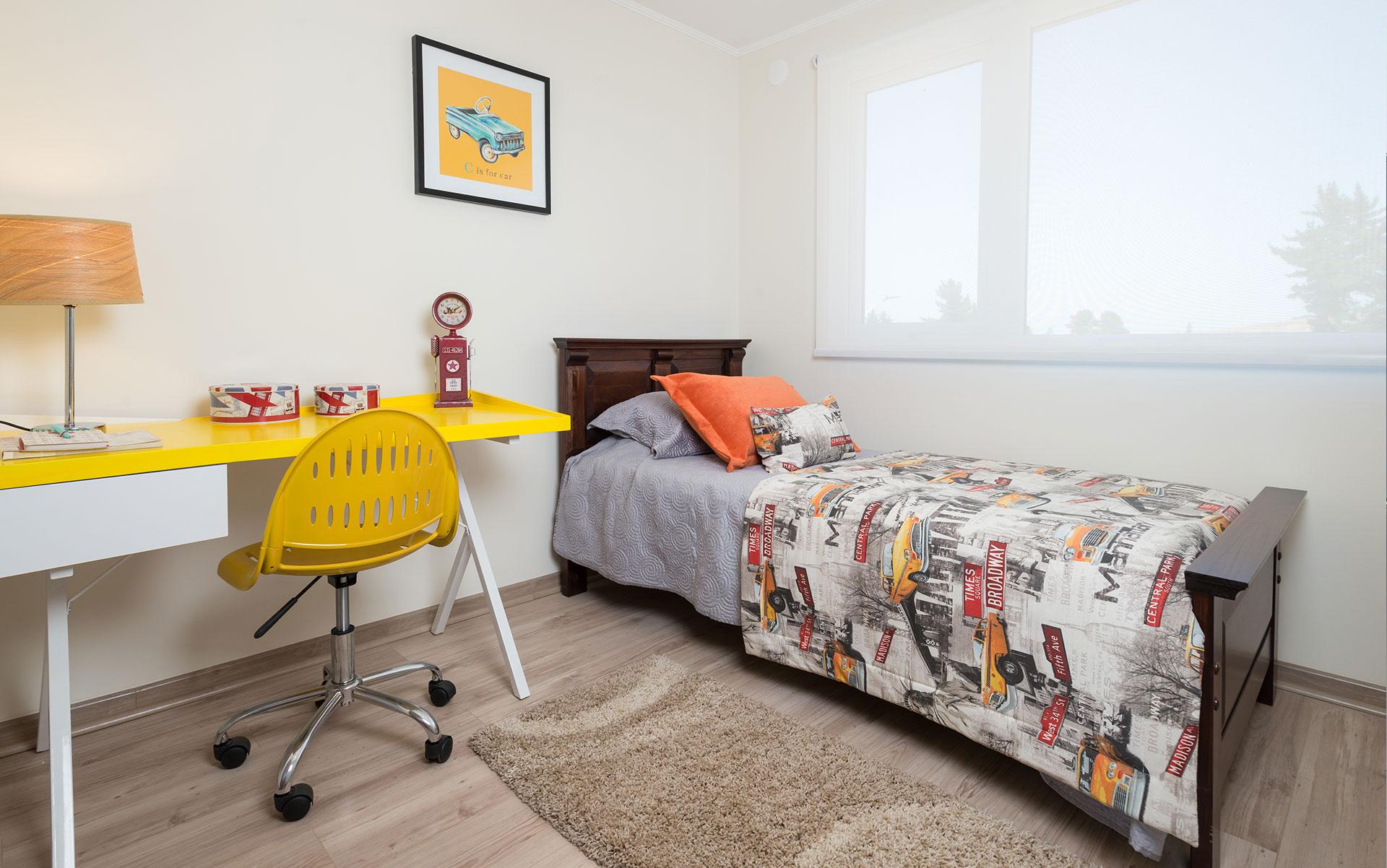 dormitorio individual Condominio Versalles