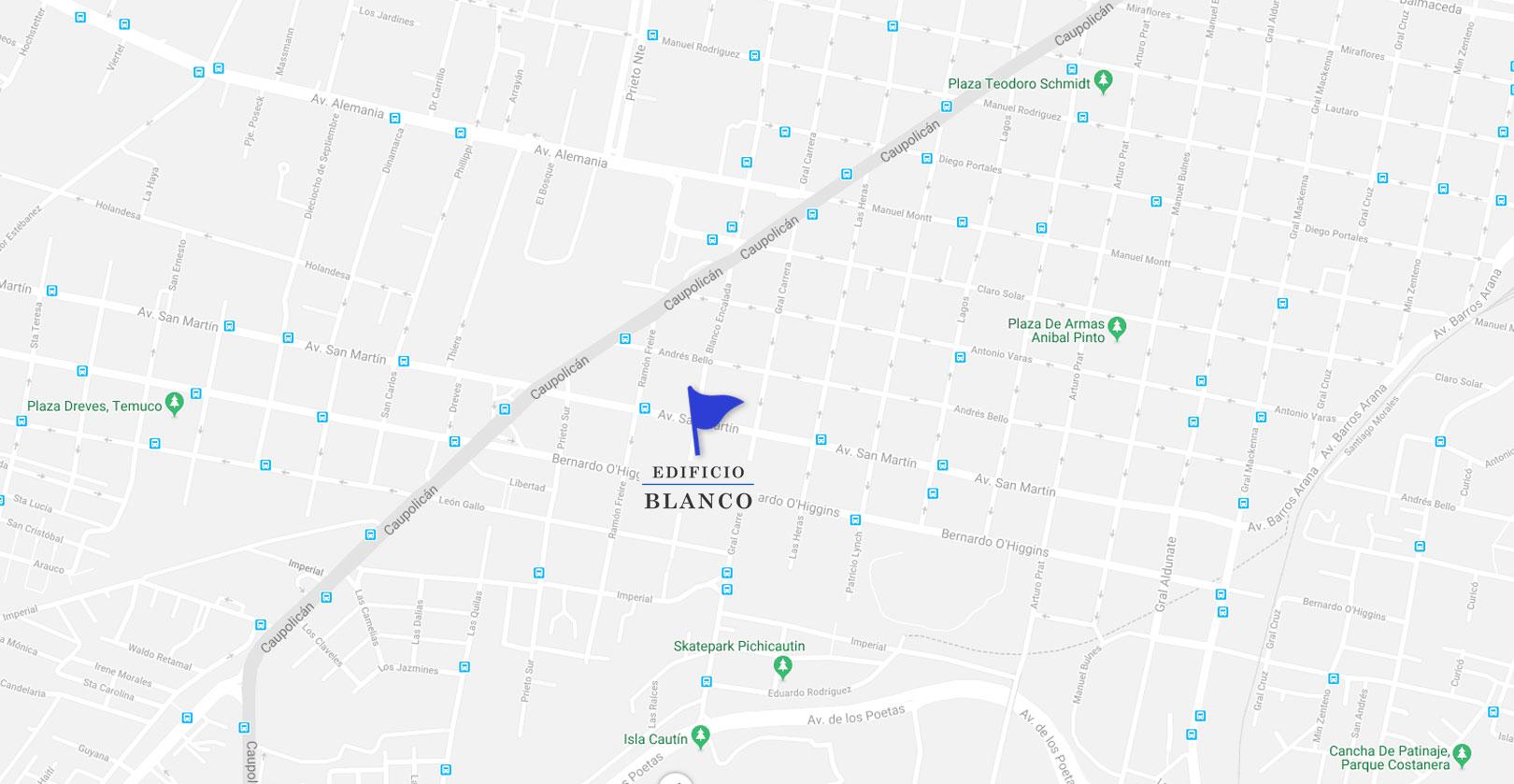 Mapa-edificio blanco-Dubois