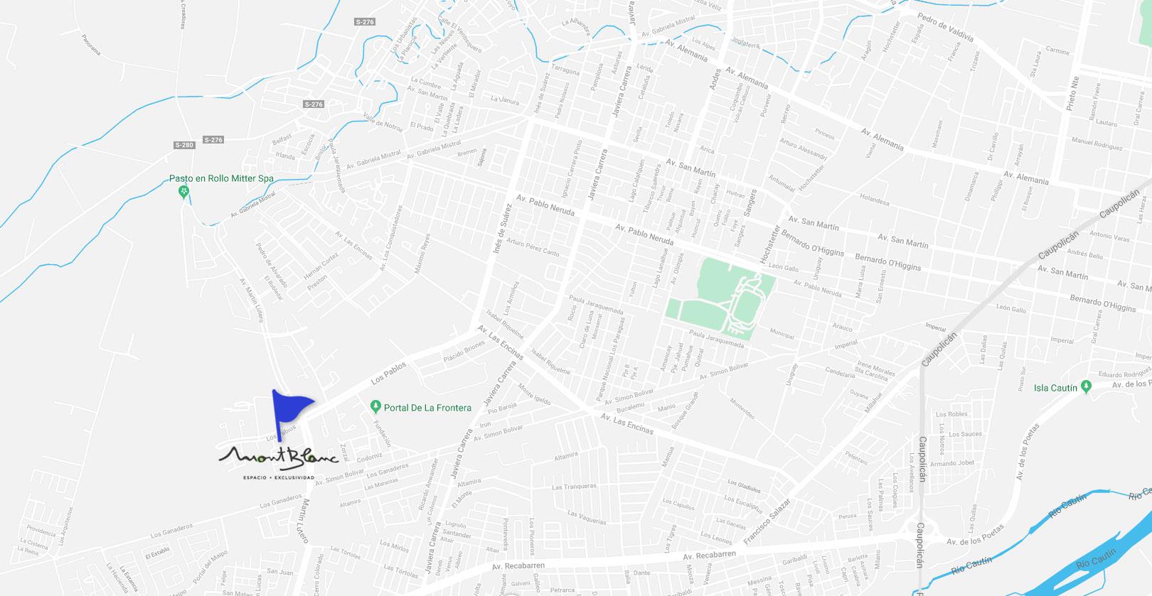 Mapa-montblanc Dubois