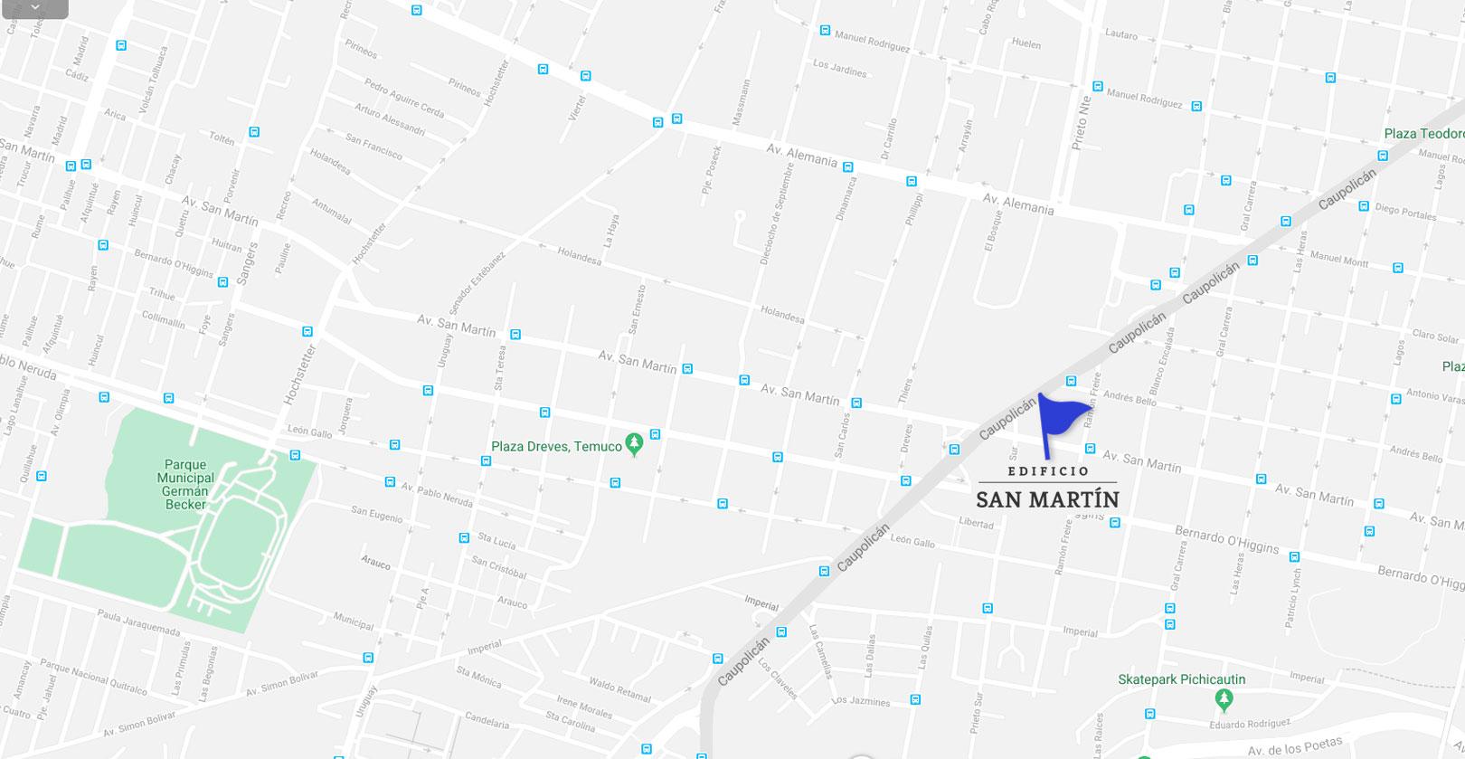 Mapa-edificio san martin-Dubois