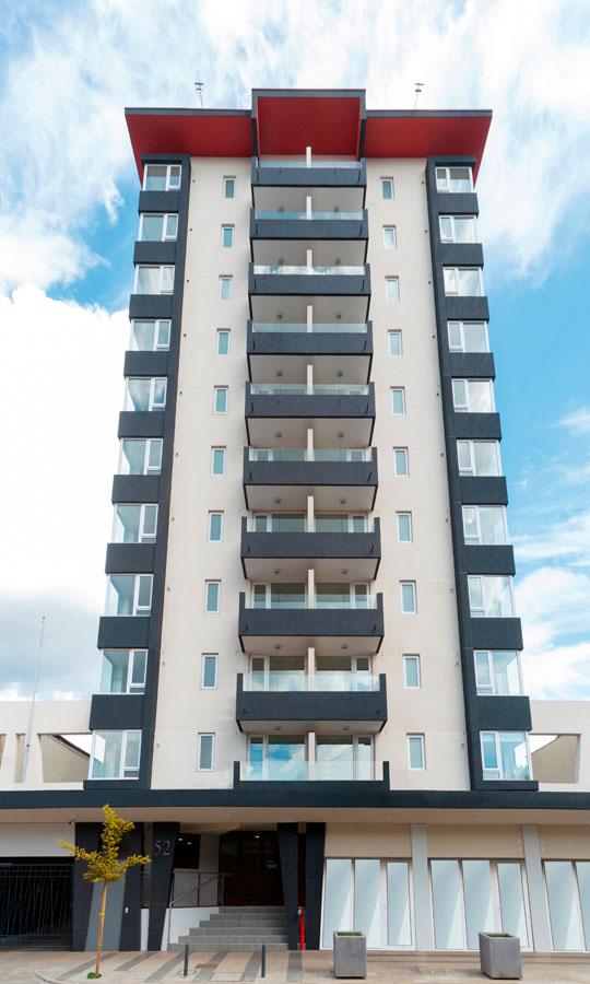 Vista Fachada Edificio San Martin
