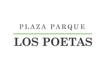 logo plaza parque los poetas