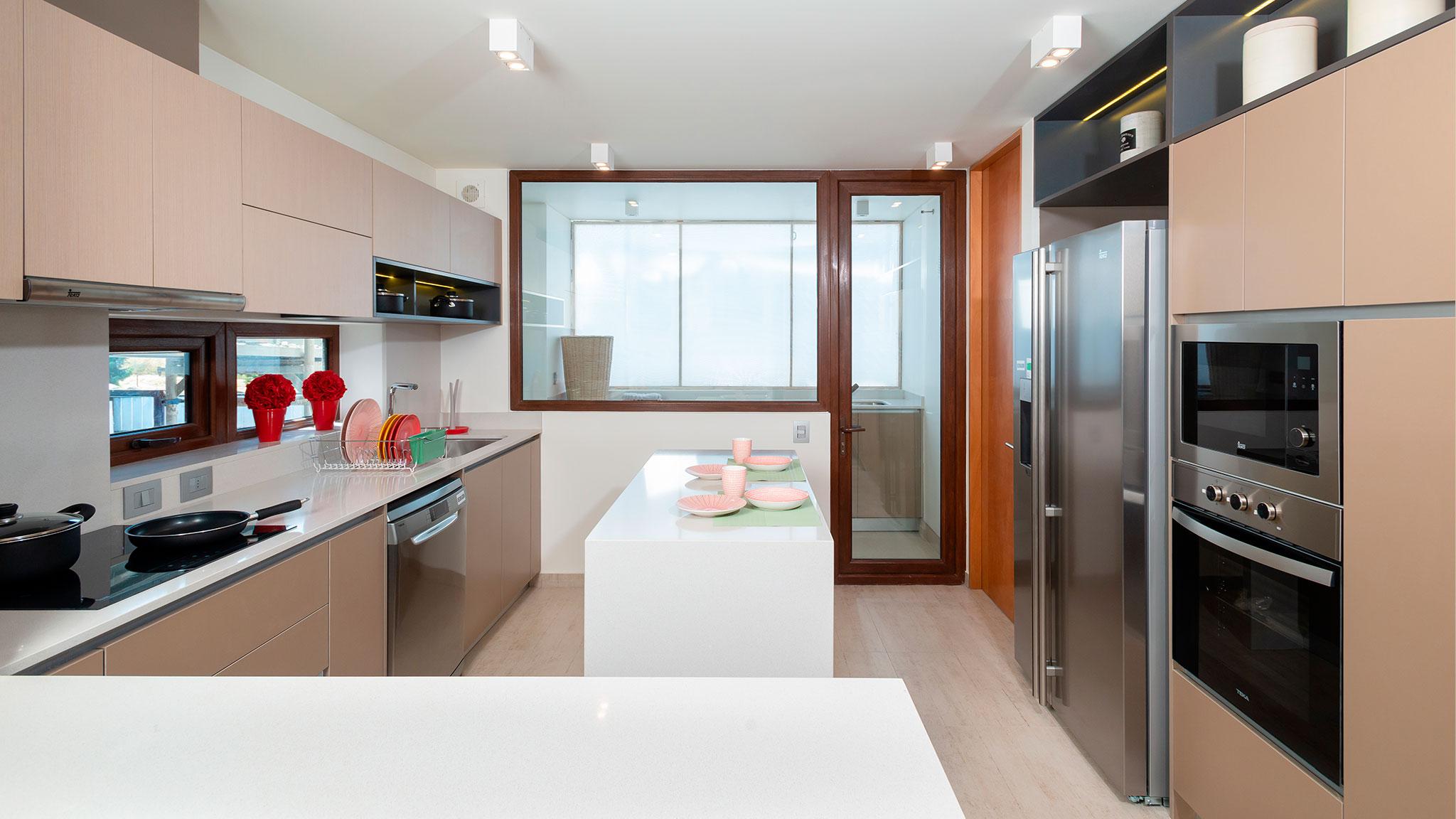 cocina Mont Blanc